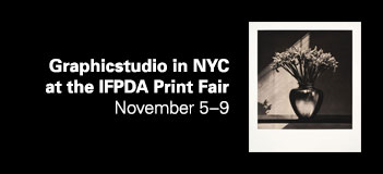 Graphicstudio in NYC at the IFPDA Print Fair - November 5–9